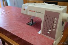 Sewing machine extension table  -Nouli's place- Extension Table, Extensions, Sewing, Dressmaking, Hair Extensions, Sew, Stitching, Full Sew In, Costura