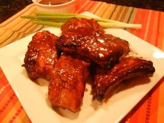 Chinese Barbeque Pork Ribs