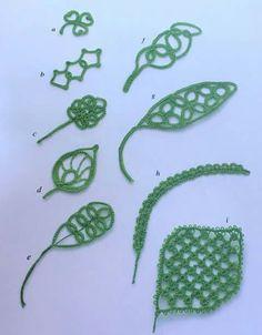#tatting #leaf