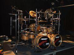 Custom Peavy Drum Kit