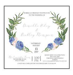 Calligraphy Diy, Printable Wedding Invitations, Paper Texture, The Little Mermaid, Letterpress, My Etsy Shop, Printables