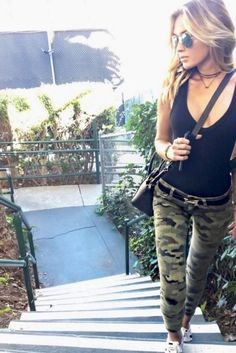 Paulina Gretzky Wears Camo Pants And Now We Want Camo Pants