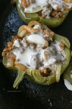 Low carb stuffed peppers features tender beef and onions covered in melted cheese. This easy cheese steak recipe makes a quick weeknight dinner the whole family will love. Beef Recipes, Low Carb Recipes, Cooking Recipes, Healthy Recipes, Recipies, Diet Dinner Recipes, Keto Dinner, Cooking Tips, Cheesesteak Stuffed Peppers