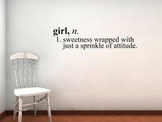 Girl a giggle that twirls nursery art 11x14 quote print kids girl definition vinyl wall decal small by circlelinestudio on etsy 2400 voltagebd Choice Image
