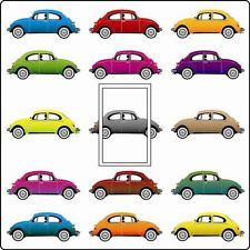 VW Cars Beetles Laura Boys Bedroom Surf Vinyl Retro Light Switch Cover Sticker a