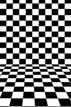Patterned Backdrops Plaid Black And White Background LK 1183 E