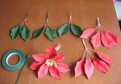 5. Poinsettia tutorial