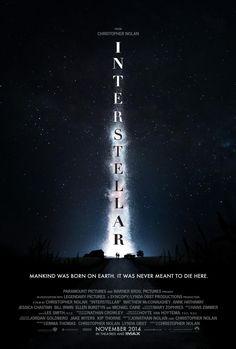 Amazing poster for the film Interstellar!
