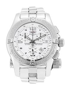 Breitling Emergency - never fails to brighten a dull day Breitling Superocean Heritage, Breitling Navitimer, Breitling Watches, Mechanical Watch, Luxury Watches, Quartz Watch, Bigbang, Fashion Art, Fails