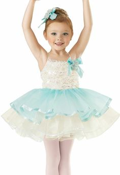 Girls' Flower Ballet Dress; Weissman Costumes