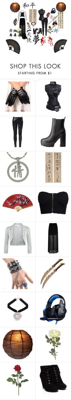 """""""chinese ideas"""" by mimsy-chan ❤ liked on Polyvore featuring Retrò, David Lerner, Charlotte Russe, Carolina Glamour Collection, S.W.O.R.D., NLY Trend, Monsoon, Mela Loves London, Trend Cool and Cultural Intrigue"""