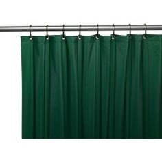 Hotel Collection Heavy Duty Mold & Mildew Resistant Premium PEVA Shower Curtain Liner with Rust Proof Metal Grommets - Assorted Colors (Hunter Green) Hotel Shower Curtain, Vinyl Shower Curtains, Bathroom Ensembles, Shower Liner, Shower Mold, Home Fashion, Fashion Decor, Mold And Mildew, Full Bath