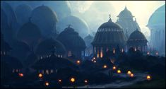 The incredible art of Andreas Rocha /wizards of the coast / blizzard entertainment