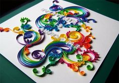 Home-Dzine - Wonderful ways to craft with paper: quilling tutorial