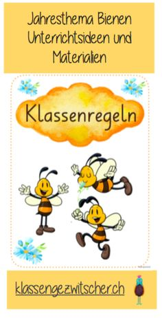 Kindergarten, Character, Middle School, Elementary Schools, Bees, Insects, School Holidays, Learning Numbers, Kindergartens