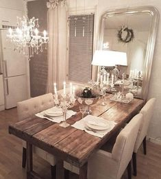 Different table but like the overall look
