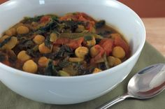 Vegetarian Indian Recipes: Vegan Channa Palak Masala Recipe | Happy Herbivore