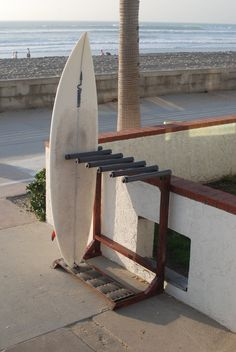 A Beach Life Sometimes Needs Beach Storage. Surfboard Storage That Can Be  Used Anywhere.