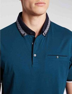 Pure Cotton Tailored Fit Polo Shirt