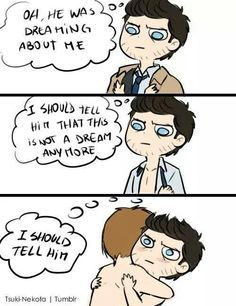 destiel comic - Google Search