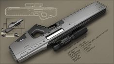 Sci-Fi Concept Art Guns   ... art 3 dimensional art objects weapons 2013 peterku concept of scifi soon to be available at your neighborhood gun shop.