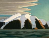 The Cricket Chirps — Lawren Harris, North Shore, Baffin Island, 1930 Group Of Seven Art, Group Of Seven Paintings, Emily Carr, Winter Landscape, Landscape Paintings, Abstract Landscape, Impressionist Landscape, Landscapes, Canadian Painters