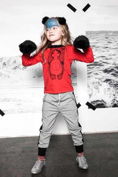 """Take a look atIgló & Indí, Winter2014/2015. This Icelandic brand is so sweet, comfortable and wearable and the graphics are quite wonderful. And this season, we have lots of base grays and blacks that are exploded by bright reds and yellows. Helga Ólafsdóttir, the founder, and head designer says,""""I love designing kids wear. Every …"""