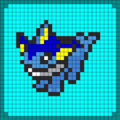 Pokemon Kandi Patterns | Pokemon Pony Bead Patterns | Patterns for Kandi Cuffs