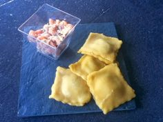Fly & Try: Raviolis au saumon