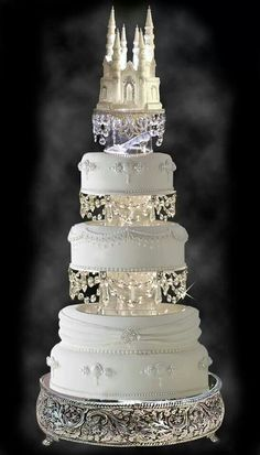 Dream Disney wedding cake