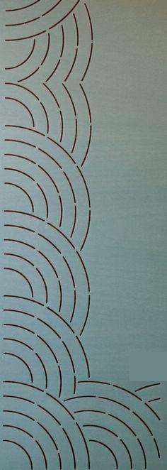 """Fan Border 3.75"""" - The Stencil Company"""
