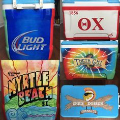 Theta chi formal at myrtle beach cooler
