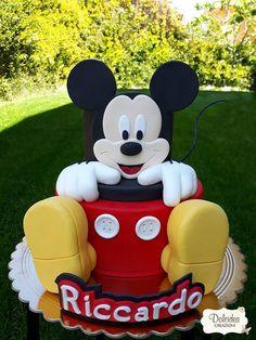 Torta Topolino - Mickey Mouse Disney cake