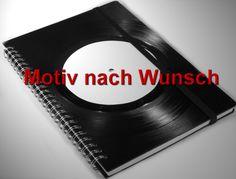 Weiteres - Notizbuch Motiv nach Wunsch aus Schallplatte - ein Designerstück von Aurum bei DaWanda