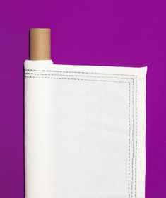 Use empty paper towel and wrapping paper tubes to store linens you only use occasionally. They'll stay wrinkle-free when rolled.