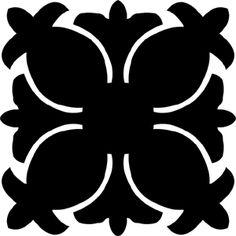 Hawaiian Quilt Tile 4 : HaoleKid