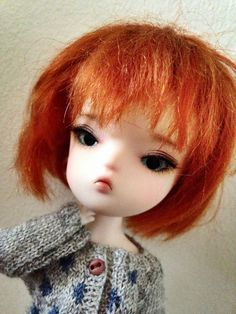 Secretdoll Person 21 Nomyens Custom Face up tiny bjd Pukifee size