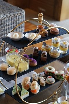 Afternoon tea at the Ritz Carlton Okinawa Maybe I can get my husband to suffer the long journey to Okinawa if I show him this!