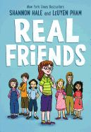 pin> Real Friends by Shannon Hale. SUMMARY: When her best friend Adrienne starts hanging out with the most popular girl in class, Shannon questions with whether she and Adrienne will stay friends, and if she is part of the clique. Summer Reading Lists, Free Reading, Reading Books, Reading Club, Reading Library, Free Library, Kids Reading, Library Ideas, Library Books