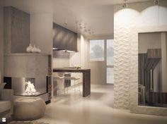 Modern cosy apartment 01 - zdjęcie od BAMM studio - Salon - Styl Nowoczesny - BAMM studio