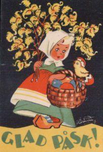 Astrid Österling - Google otsing Fete Pascal, Spring Images, Easter Traditions, Easter Art, Vintage Easter, Postcards, Illustration, Fictional Characters, Google