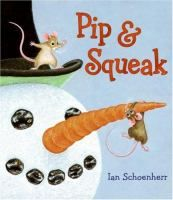 Pip & Squeak by Ian Schoenherr. Cute for both toddlers and preschoolers. After rushing through the snow to get to their friend's birthday party, two mice realize that they forgot to bring the present.