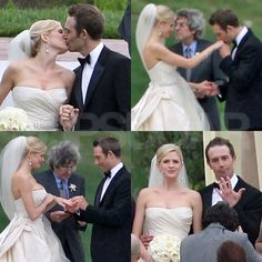 Photo of Michael Vartan Ties the Knot — Check Out Tons of Pics of the Beautiful Wedding! Michael Vartan, Victor Garber, Ben Affleck, He's Beautiful, Tie The Knots, Celebrity Weddings, Newlyweds, One Shoulder Wedding Dress, Photo Galleries