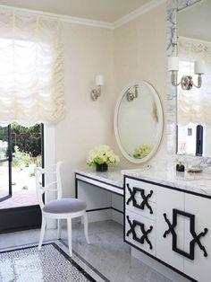 Fabulous vanity design