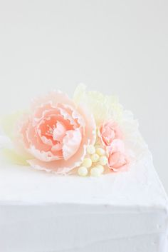 If I could only make sugar flowers like these