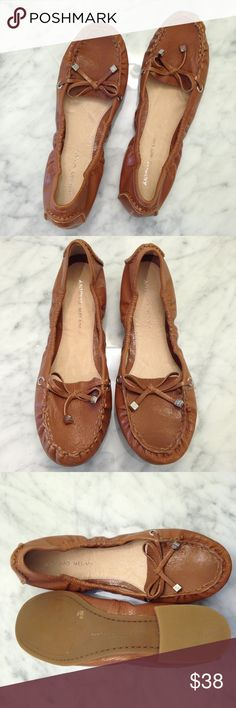NEW Antonio Melanie Tan Tassel Loafer Flats Sz 8.5 NEW Antonio Melanie Tan Tassel Loafer Flats Size 8.5. These shoes are ballet flat style with a loafer twist and have a bow tie with tassel detail. These are brand new without the box.  ✨Reasonable offers considered and bundles discounted 10%.✨ ANTONIO MELANI Shoes Flats & Loafers