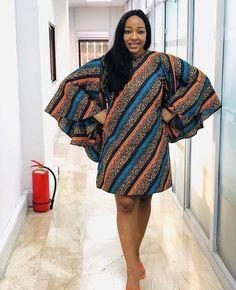 Ankara Fashion Inspiration: These Short Ankara Dresses Will Surely Stand you out. Latest Ankara Short Gown, Ankara Short Gown Styles, Short African Dresses, Short Gowns, Latest African Fashion Dresses, African Print Dresses, African Print Fashion, African Wear, African Attire