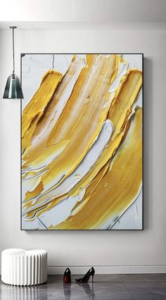 Handmade Oil Painting On Canvas Abstract Painting Pastel Crayon Art Am – parsleyral Abstract Canvas, Oil Painting On Canvas, Textured Painting, Diy Abstract Art, Acrylic Paintings, Modern Art Paintings, Painting Art, Portrait Paintings, Indian Paintings