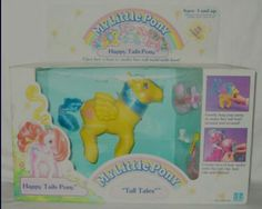 "1987 Happy Tails Pony ""Tall Tales"" My Little Pony.  G;)"