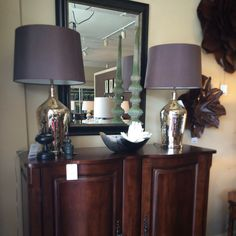 Gorgeous Lamps Flanking The Mirror Betty Rumpf Interiors